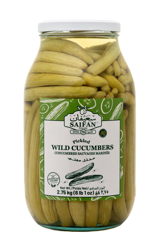 Pickled Wild Cucumbers
