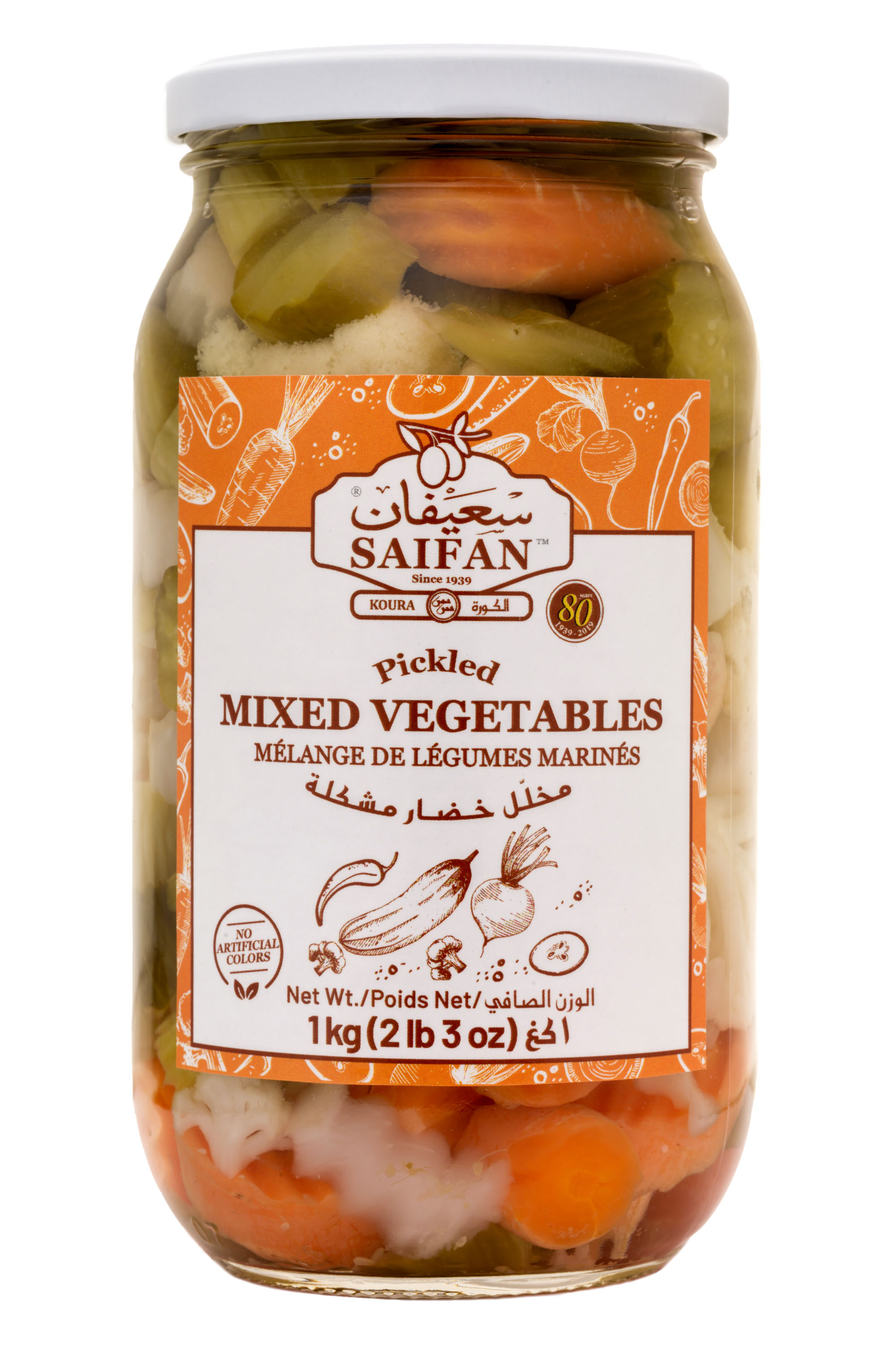 Pickled Mixed Vegetables